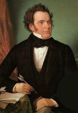 Birth of Franz Schubert