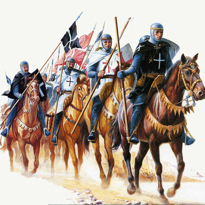 Крестовые походы timeline