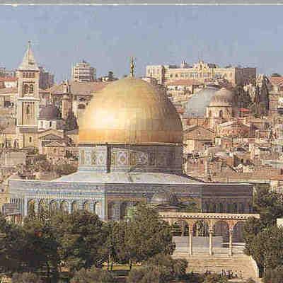 The Holy Land timeline