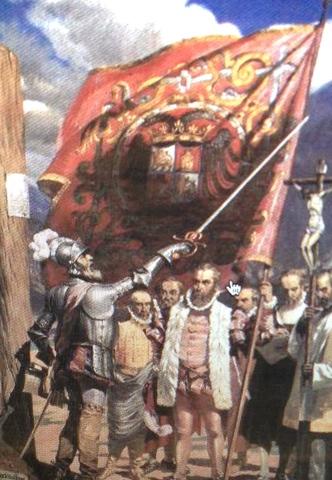 Francisco Pizarros Ship The Colonies ti...