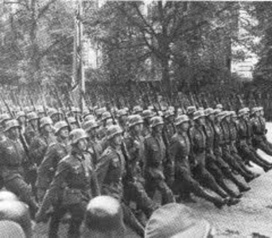Primera vez que detienen al Ejercito Aleman