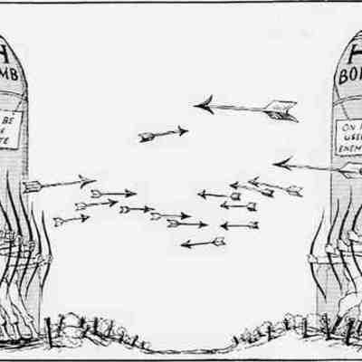 Eventos más importantes de la Guerra Fría (1945-1955) timeline