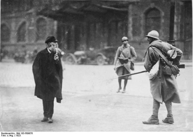 Ocupación de la Cuenca de Ruhr