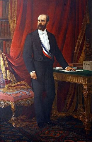 Federico Errázuriz Zañartu becomes President of Chile