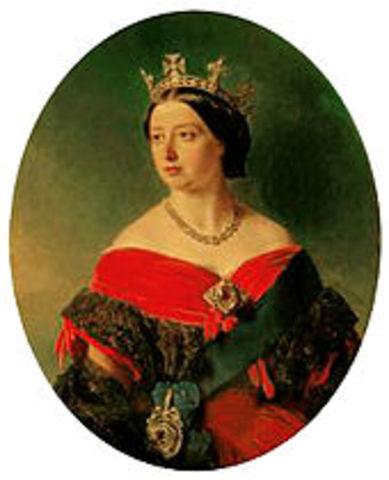 La reina Victori