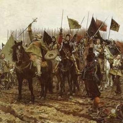 Основные этапы Тридцатилетней войны в Европе (1618—1648) timeline