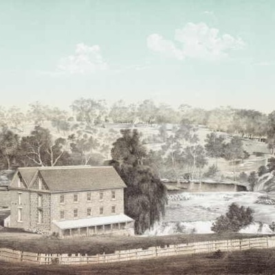 Dights Falls History timeline