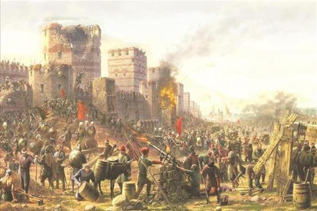 The Second Siege of Constantinople