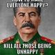 Stalin knows best