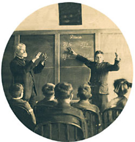 A history of education for the deaf in the world