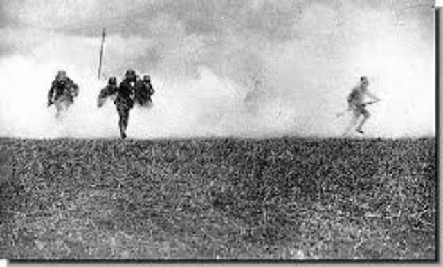 First use of deadly Poison gas by the Allies