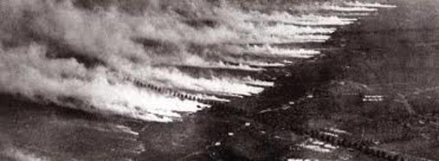 first use of poison gas by the germans