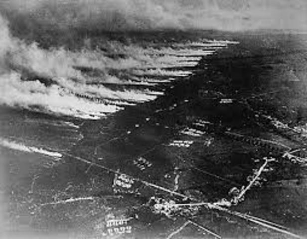 First use of poison gas on eastern front