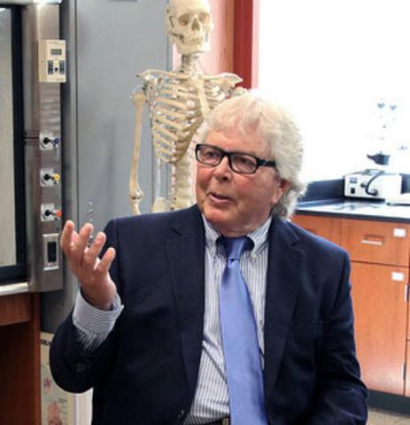Professor Herbert Boyer from Stanford University Medical School creates recombinant DNA.