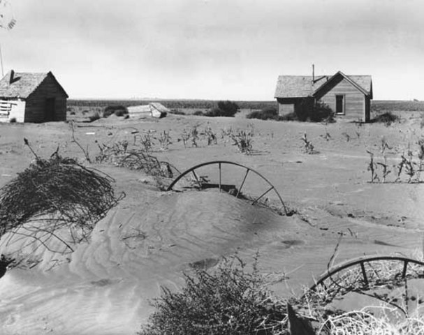 Beginning of Dust Bowl