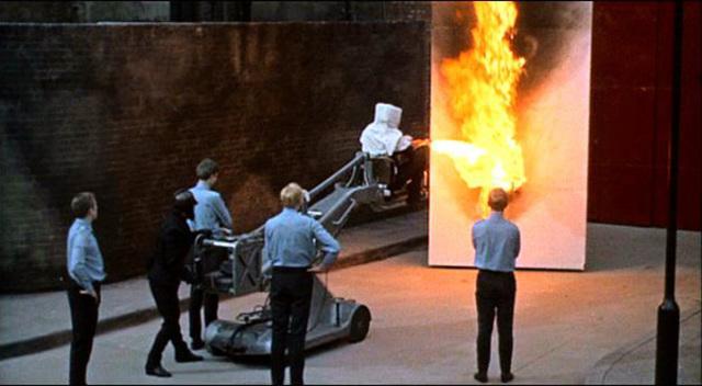 Fahrenheit 451 Timeline   Timetoast timelines  Fahrenheit 451 Mechanical Hound Movie