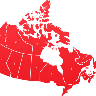 Canada - 1100 years of history timeline