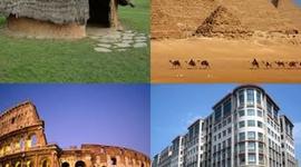 HOGARES EN LA HISTORIA timeline