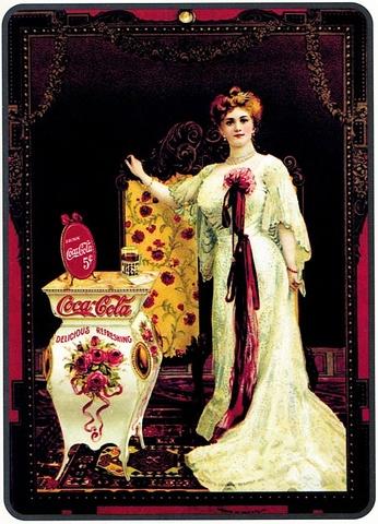 Первый рекламный плакат компании