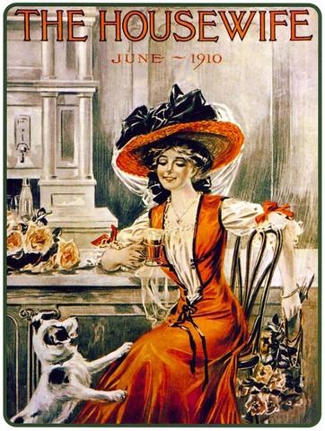 Плакат 1910 года