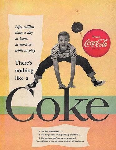 Плакат 1955 год