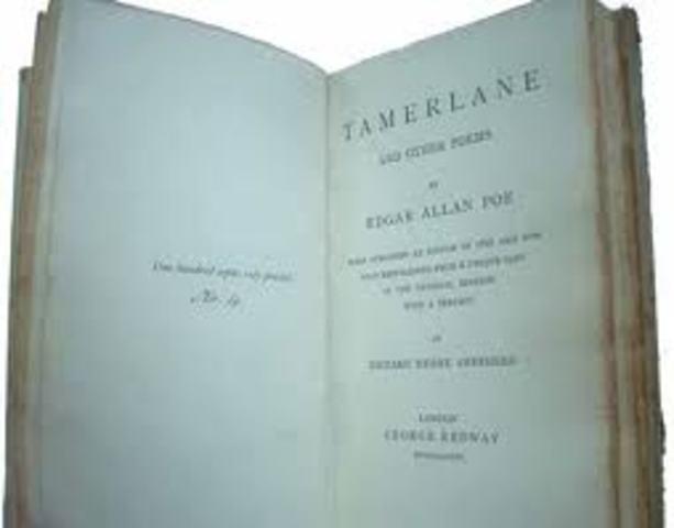 Poe writes his first novel The Narative of Arthur Gordon Pym