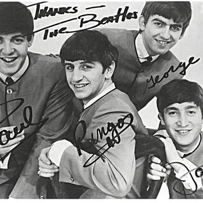 """История группы """"Beatles"""" timeline"""
