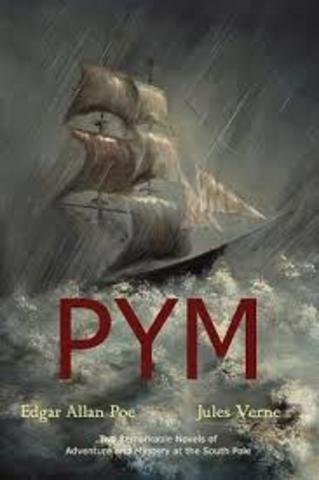 Poe writes his first novel The Narrative of Arthur Gordon Pym.