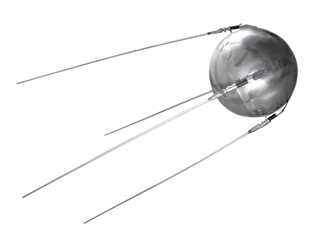 First Artificial Satellite Sputnik 1 was launched