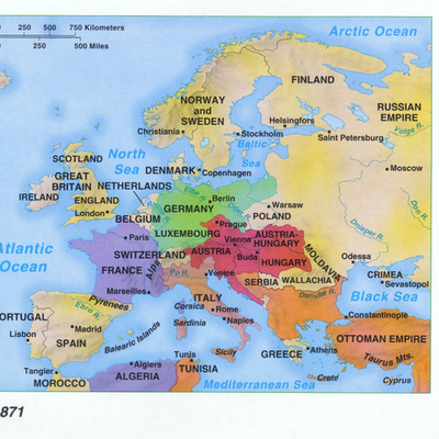 European Diplomacy 1870-1913 timeline