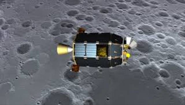 First Spacecraft to impact on the moon