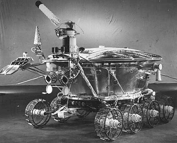 1st rover land on the moon
