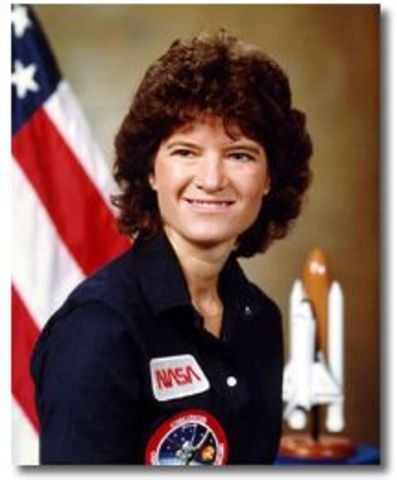 First American Woman in Space