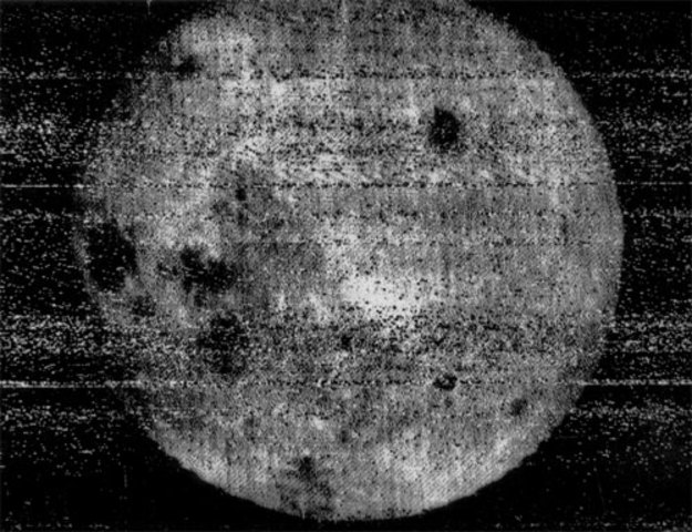 First View of Moon's Far Side