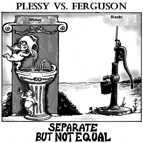 Plessy vs ferguson date in Sydney