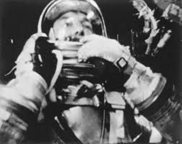 First American to go to Space