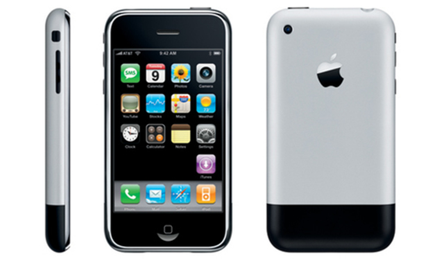 The first i phone created