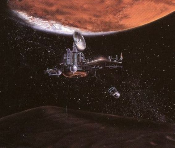 NASA and the Soviets Send Probes to Mars