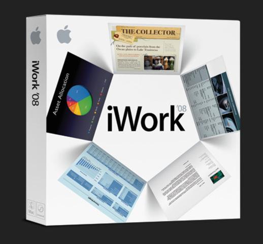 Se incluye a iwork