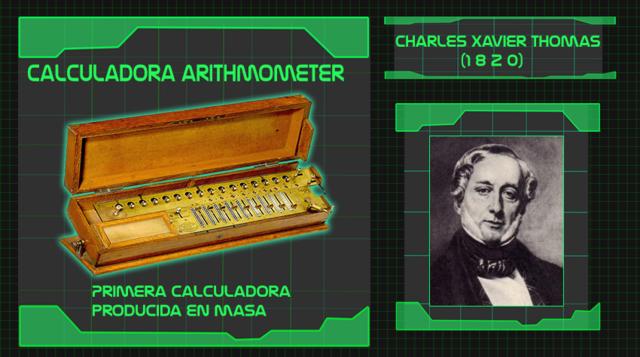 Calculadora arithmometer