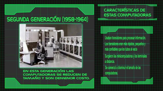 Generación 2 de computadoras