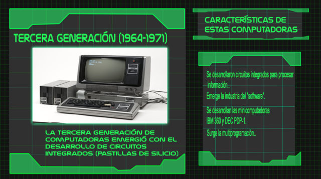 Generación 3 de computadoras