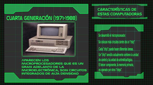 Generación 4 de computadoras
