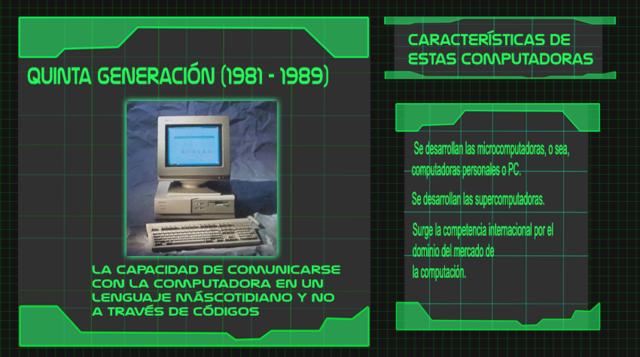 Generación  5 de computadoras