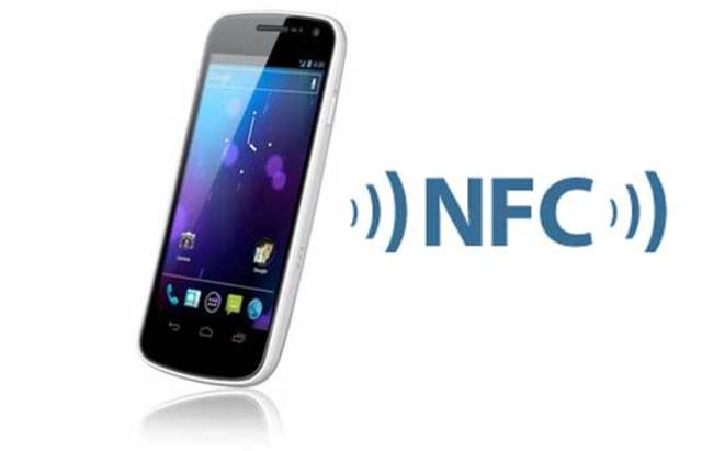 Smartphone compatible NFC
