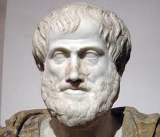 Aristotle  384 BC - 322 BC