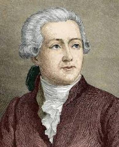 Antoine Lavoisier 1743 - 1794