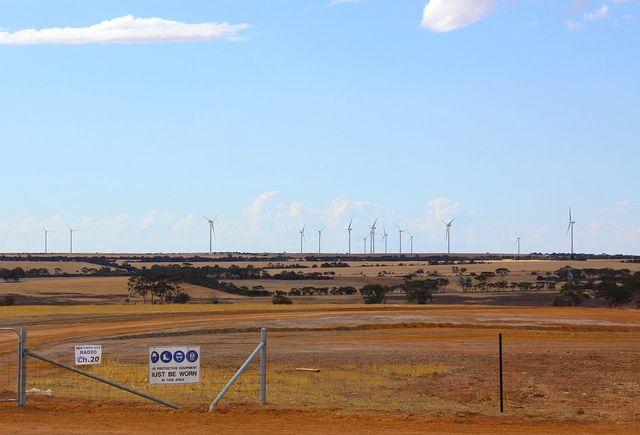 Collgar Wind Farm (Australia's biggest wind farm) finished.