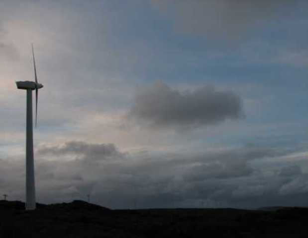Wind Farm Built in Ten Mile Lagoon
