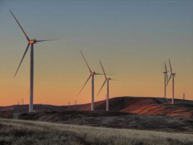 Hallet Wind Farm Finished
